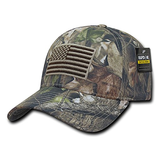 Rapdom Tactical USA Embroidered Operator Cap - Hybricam Camo