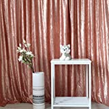 GFCC Blush 10x12FT Photo Booth Sequin Backdrop Curtain Parties Decorations