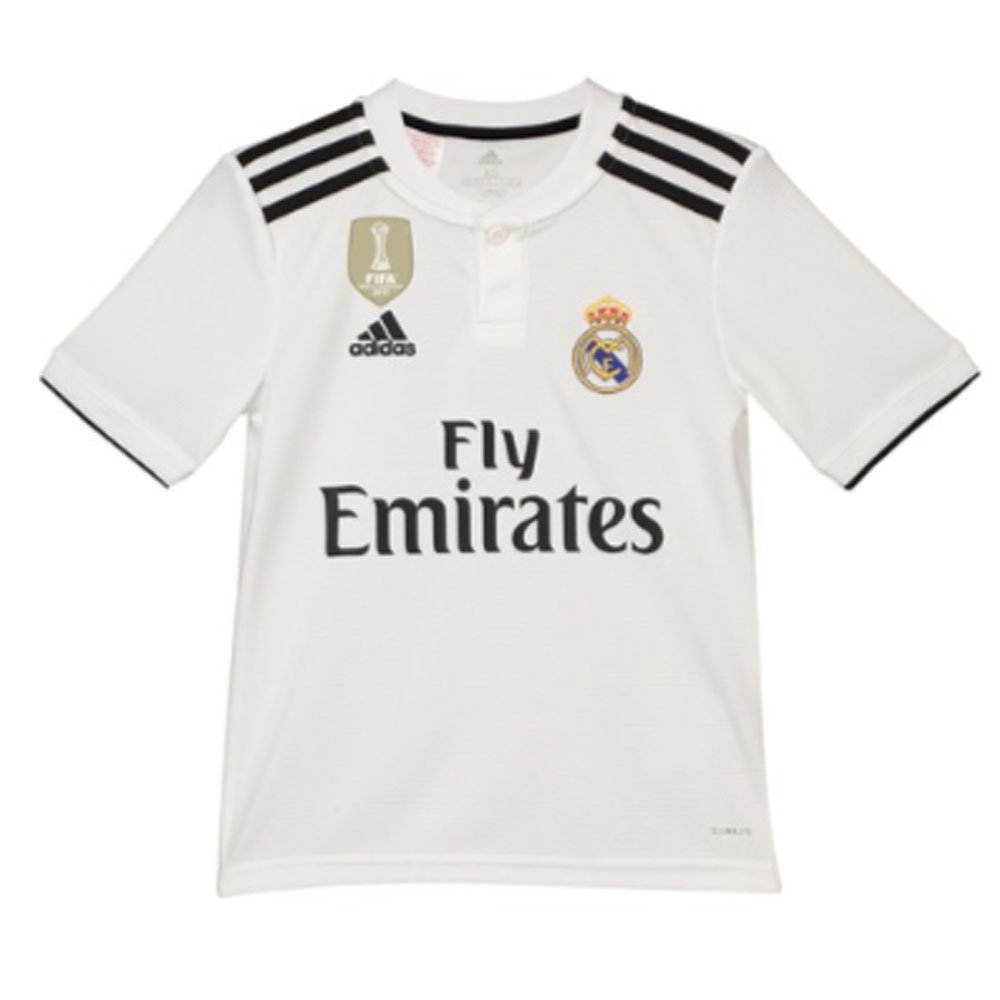 Amazon.com : 2018-19 Real Madrid Home Football Soccer T-Shirt Jersey (Gareth Bale 11) - Kids : Sports & Outdoors