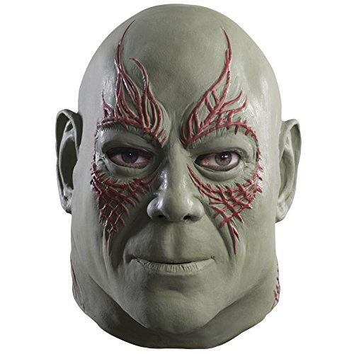 Rubie's Costume Men's Guardians Of The Galaxy Overhead Drax The Destroyer Mask, Multi, One Size (Spiderman Villain Costumes)