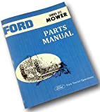 Ford Series 515 Rear Attached Mower Parts Manual Catalog Book Bar Sickle Cutter