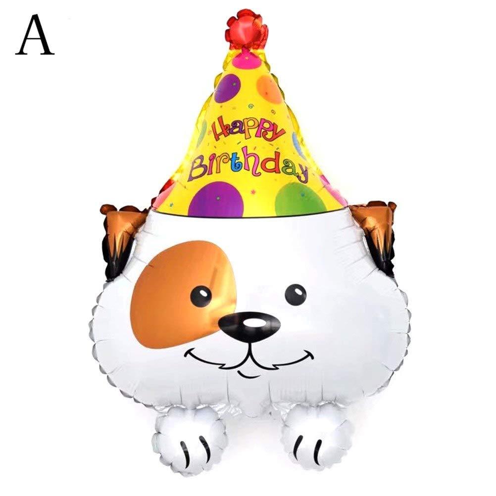 Amazon.com: Globos accesorios – 4 estilos lindo perro ...