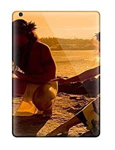 New Shockproof Protection Case Cover For Ipad Air/ Hawaiian Dancer On Beach Case Cover
