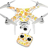MightySkins Protective Vinyl Skin Decal for DJI Phantom 3 Standard Quadcopter Drone wrap cover sticker skins Yellow Petals