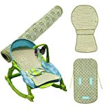 LUOEM Natural Flax Baby Stroller Summer Sleeping Mat Breathable and Cool