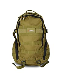 Wolf Brown Gym School Camping Hiking Military Trekking Tactical Gear Backpack