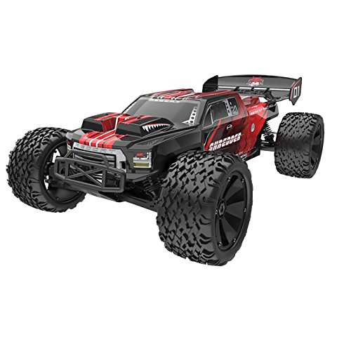 - Redcat Racing Shredder XTE Electric Truck, 1/6 Scale, Red