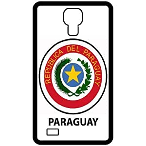 Paraguay - Country Coat Of Arms Flag Emblem Black HTC One M8 Cell Phone