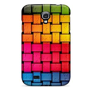 Twnkg5203sarrG Tpu Phone Case With Fashionable Look For Galaxy S4 - Rainbow Twist