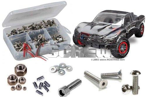 RCScrewZ Traxxas Slash 4x4 Ultimate LCG Stainless Steel Screw Kit #tra051 (X Ultimate 4 4 The)