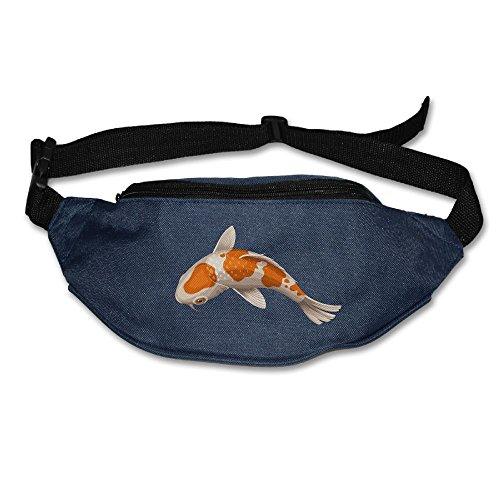 (Waist Purse Koi Fish Love Unisex Outdoor Sports Pouch Fitness Runners Waist Bags)