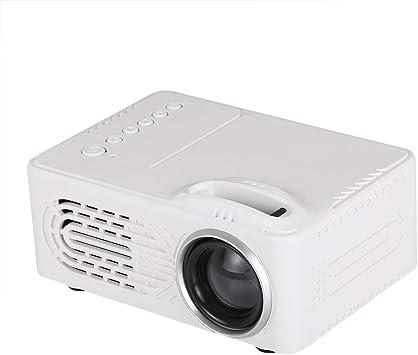 GUPENG Proyector Led Multifuncional Mini proyector LED, 320x240 ...