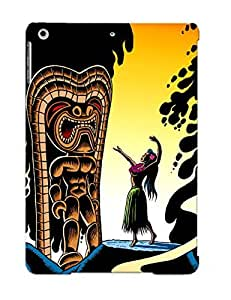 Ellent Design Homage To Tiki Case Cover For Ipad Air For New Year's Day's Gift