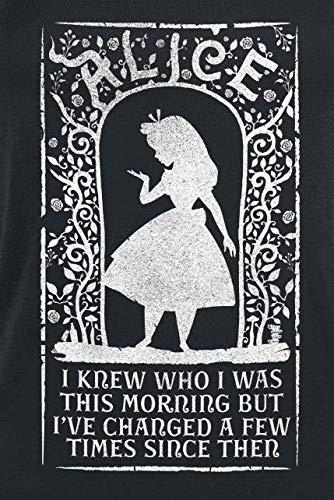 Au Who Des Femme Alice Pays Débardeur Was Noir I Merveilles I7AwUx