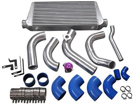 1jzgte Vvti 1JZ Swap 240sx S13 S14 Radiador Intercooler tuberías hardpipe Kit único Turbo: Amazon.es: Coche y moto
