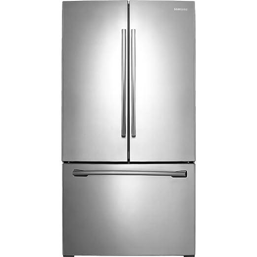 Samsung RF26HFENDSR 25 5 Cu  Ft  Stainless Steel French Door Refrigerator -  Energy Star