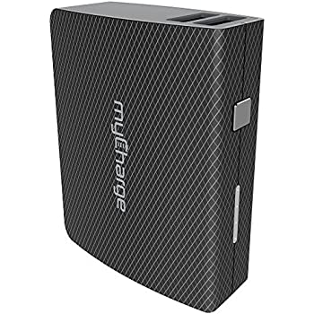 myCharge AmpMax 6000mAh Portable Charger with Built-In USB Cable