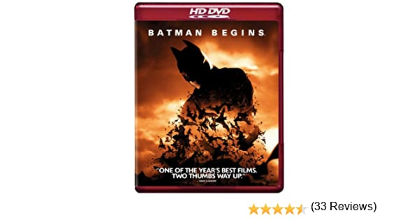 Batman Begins [USA] [HD DVD]: Amazon.es: Christian Bale, Michael Caine, Liam Neeson, Katie Holmes, Gary Oldman, Cillian Murphy, Tom Wilkinson, Rutger Hauer, ...