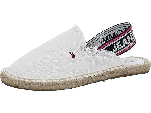 Tommy Hilfiger - Alpargatas de Tela para Mujer: Amazon.es: Zapatos y complementos