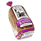 whole grain natural bread company - Vermont Bread Company All Natural Cinnamon Raisin Bread 20 Oz - 2 Packs
