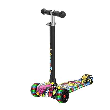 Patinetes para niños Scooter 3-6-12 años de Edad Deslizante ...