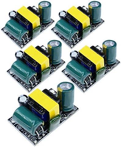 5個セット 5V 700mA 3.5W 超小型スイッチ電源モジュール AC-DC 降圧モジュール マクロプロセッサ DIY電源ボード