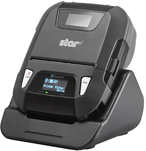 Star Micronics SM-L300 Portable Bluetooth Receipt and Label Printer with Tear Bar - Supports iOS, Android, Windows (Label Star Micronics Maker)