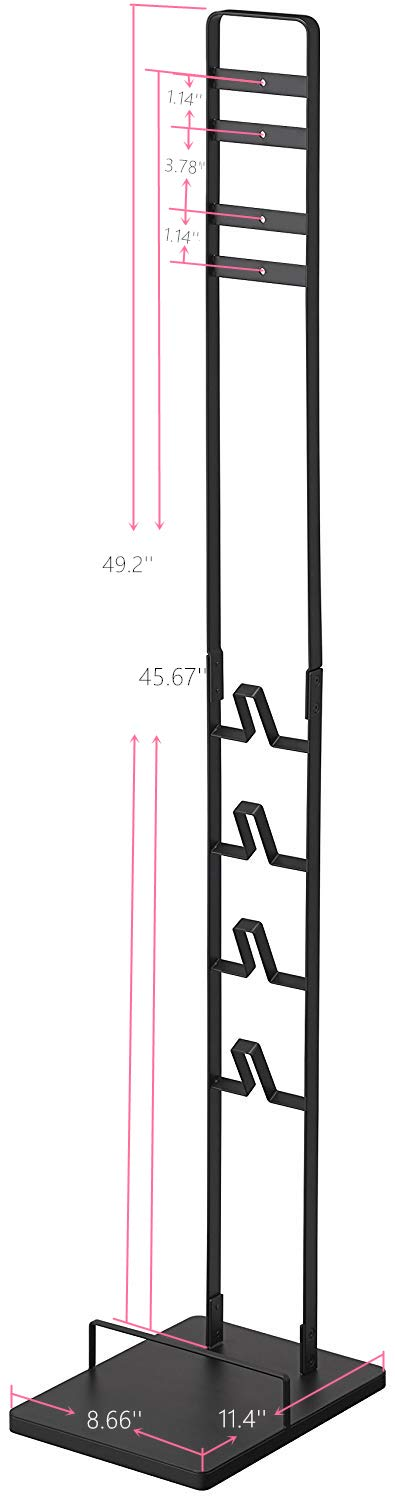 Homengine Metal Storage Bracket Stand for Dyson Handheld V6 V7 V8 V10 DC30 DC31 DC34 DC35 DC58 DC59 DC62 DC74 Cordless Vacuum Cleaners (Grey) by Homengine