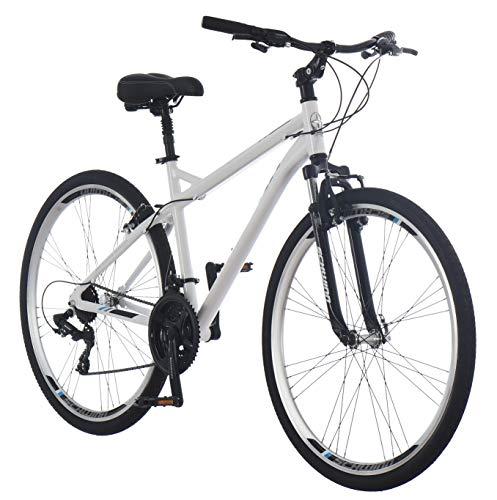 Schwinn Network 3.0 700C Men's Hybrid Bicycle, White/Blue (Bicycle Schwinn Men)