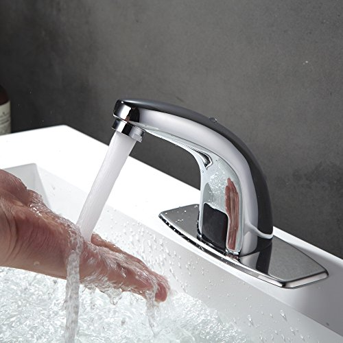 - YPINGLI New KC-TL2 Automatic Inflared Sensor Water Saving Electric Water Tap Mixer Touchles Coldwater