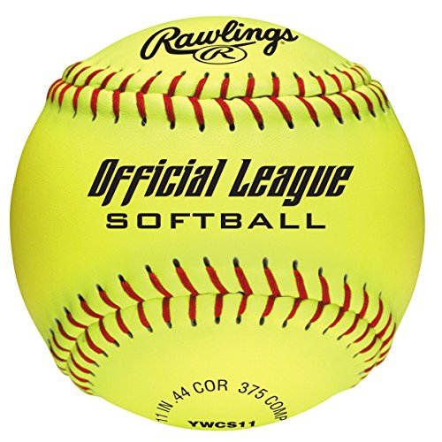(Rawlings Official League Dream Seam Softball, 12 Count, YWCS11 )