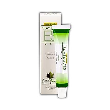 Lane Labs - SunSpot ES, Natural Exfoliating Gel, Skin Rejuvinating  Ingredients, Including Aloe Vera