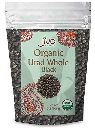 Jiva Organic Urad Whole 2 Pound Bag