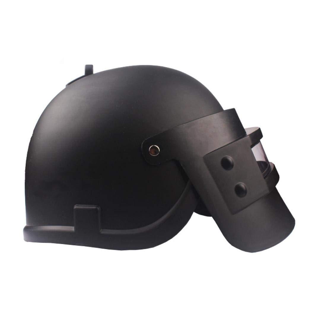 Simulation Battlegrounds Level 3 Helmet Cap Props(25.5x 19x 16cm),123Loop Game Cosplay Mask Battlegrounds Level 3 Helmet Cap Props by 123Loop (Image #2)