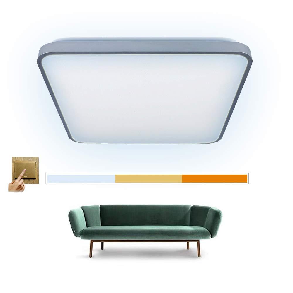Scene Switch - Lámpara LED de techo (acrílico, 535 x 535 x ...