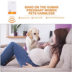 Ultrasonic Pest Repeller - Electronic Plug Ultrasound Reject Pest Repellent Indoor Plug-In Repellent - Get Rid Of -Rodents Squirrels Mice Rats Insects Roaches Spiders FleasAnts Mosquitos (White)