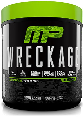 MusclePharm Wreckage Pre Workout Superior Sustained product image