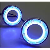 2PCS LED DRL Driving Fog Lamp Day Time Light Running Day Turn Signal Cover Kit Fit For 2008 2009 2010 2011 2012 Subaru Forester