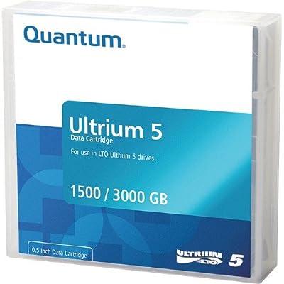 Quantum MR-L5MQN-05 New 3TB LTO Ultrium 5 Data Cartridge- 5 Pack. by Quantum