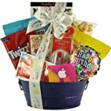 GreatArrivals Kids Birthday Gift Basket for Boys, Birthday Tunes, 3 Pound