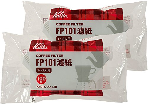 White 2 bag set # 11109 [1-2] people for 100 pieces Kalita filter paper coffee filter FP101 (japan import)