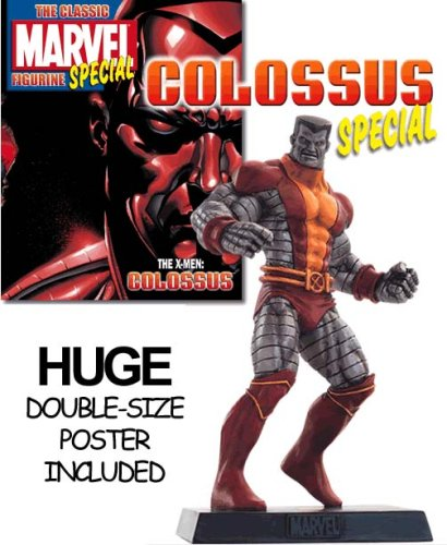 Classic Marvel Figurine Collection Magazine Colossus Special