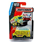 FOOD TRUCK (Fun-Fun! Sushi) * MBX Adventure City * 2014 Matchbox on a Mission Basic Die-Cast Vehicle (#9 of 120)