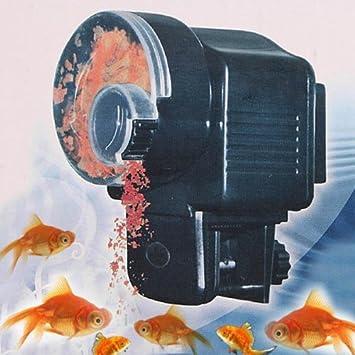 Dispensador automático de comida para peces con mecanismo retardado para acuario: Amazon.es: Productos para mascotas