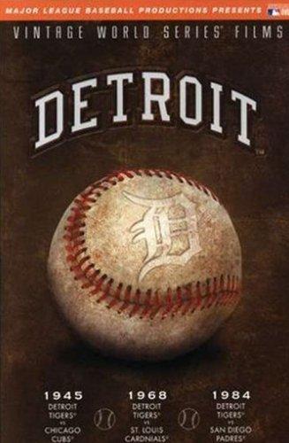 World Series: Detroit Tigers 1945 1968 & 1984 [DVD] [Region 1] [US Import] [NTSC]