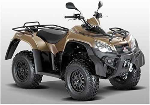Metallic Kymco MXU 450i 4x4 LOF Farben:Titansilber