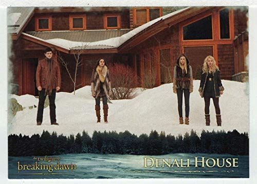 Denali House (Trading Card) The Twilight Saga - Breaking Dawn Part 2-2012 NECA # 28 - Mint (Twilight Trading Cards)
