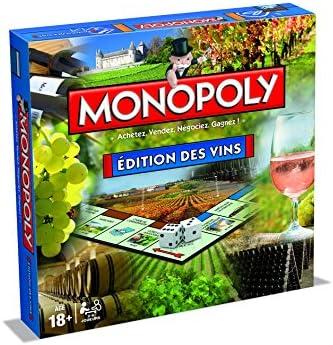 Monopoly Edition Des VINS - Juego de Mesa: Amazon.es: Juguetes y juegos