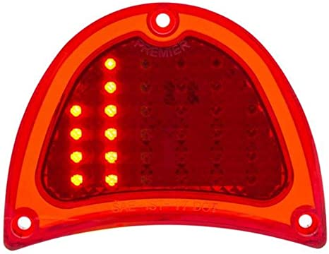 1957 Chevy LED Tail Light EA Clear Lens