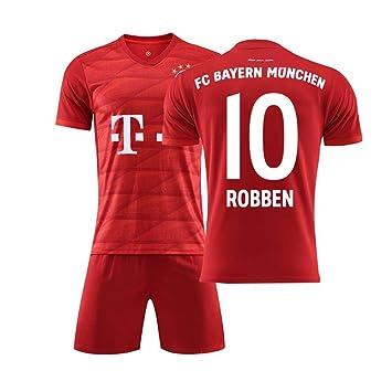 MDHL Niño de fútbol #10 Robben Uniforme de fútbol para los ...